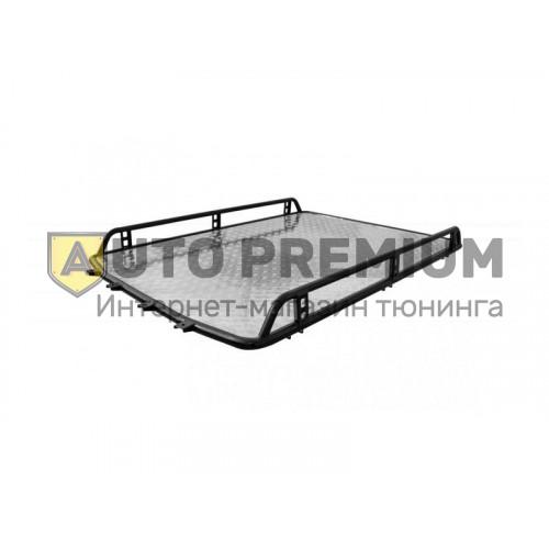 Багажник Трофи с алюминиевым листом без поперечин на Шевроле Нива RS